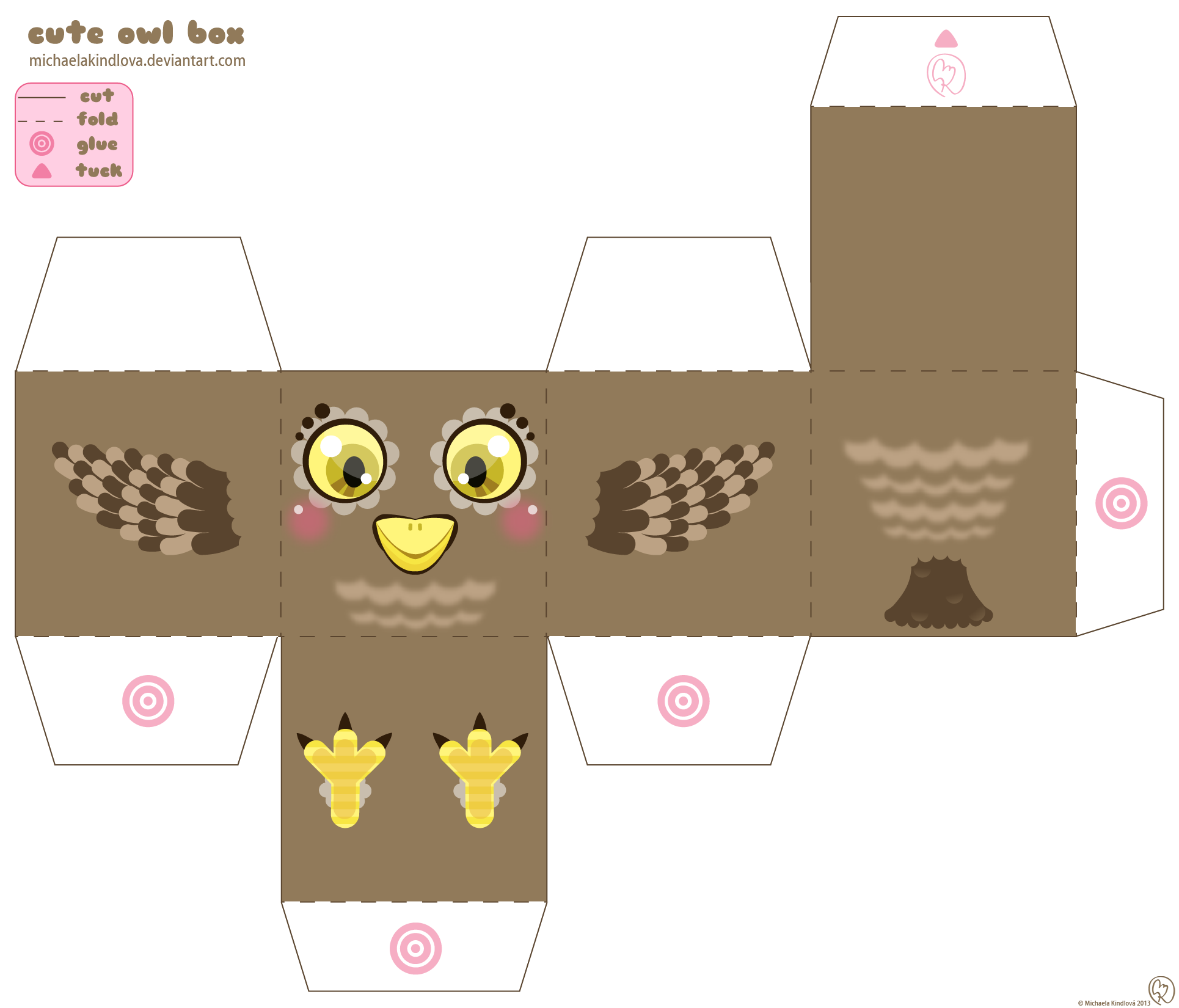 Cute Owl Box By Michaelakindlova On Deviantart
