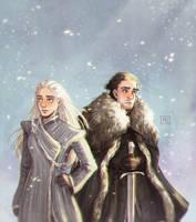 Dany and Jon by MichaelaKindlova