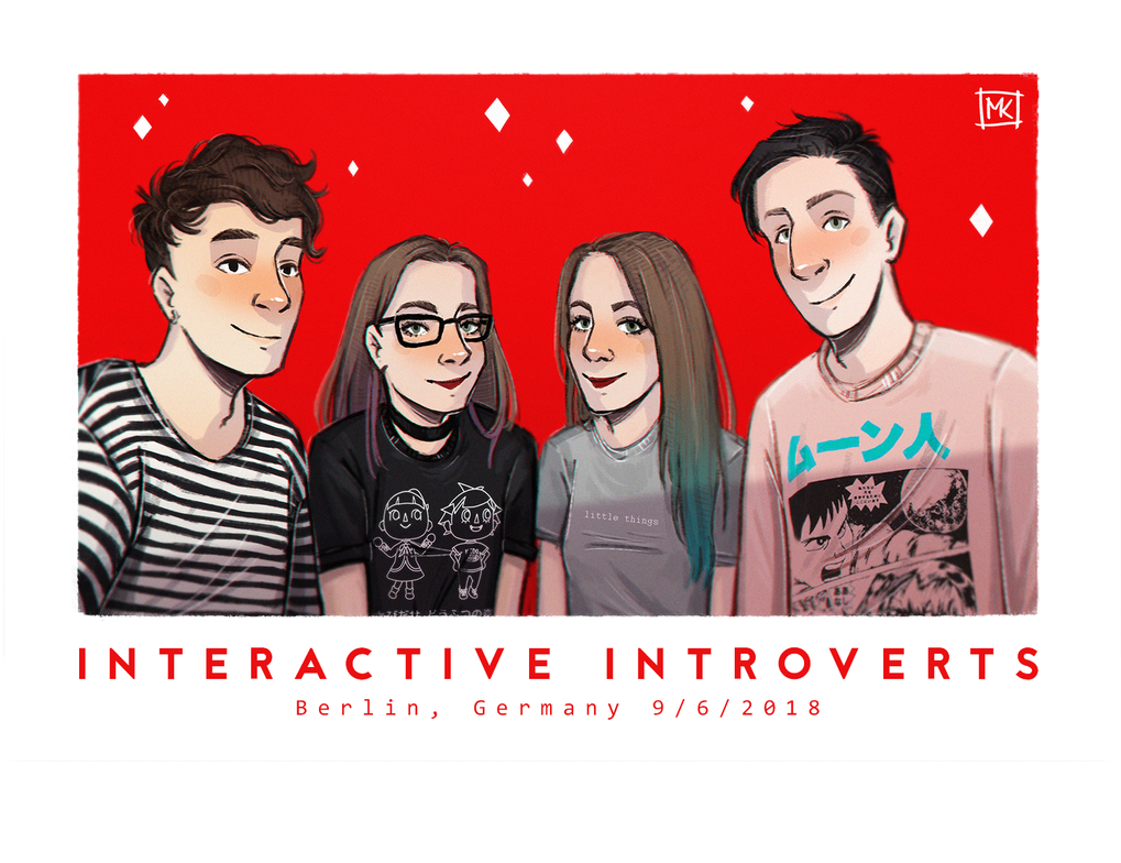 Interactive Introverts by MichaelaKindlova