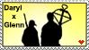 DarylxGlenn Stamp by Gingersnap87