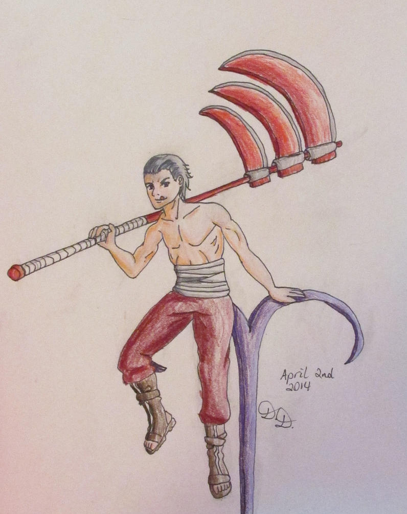 Hidan Origins: Aries Zodiac 2014 by Gingersnap87