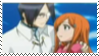 IshidaxOrihime stamp by Gingersnap87