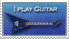 I Play Guitar Stamp by RavenGraphics