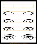 How to Draw Anime Eyes 2