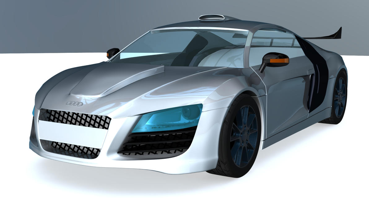 Audi R8 | First Car Model by loncing on DeviantArt