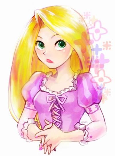 Rapunzel by godohelp