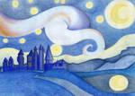 Starry Night Over Hogwarts