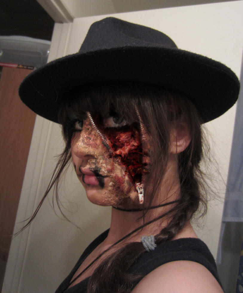 Halloween makeup by mekopar