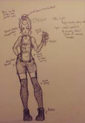 Chloe Sketch by mekopar