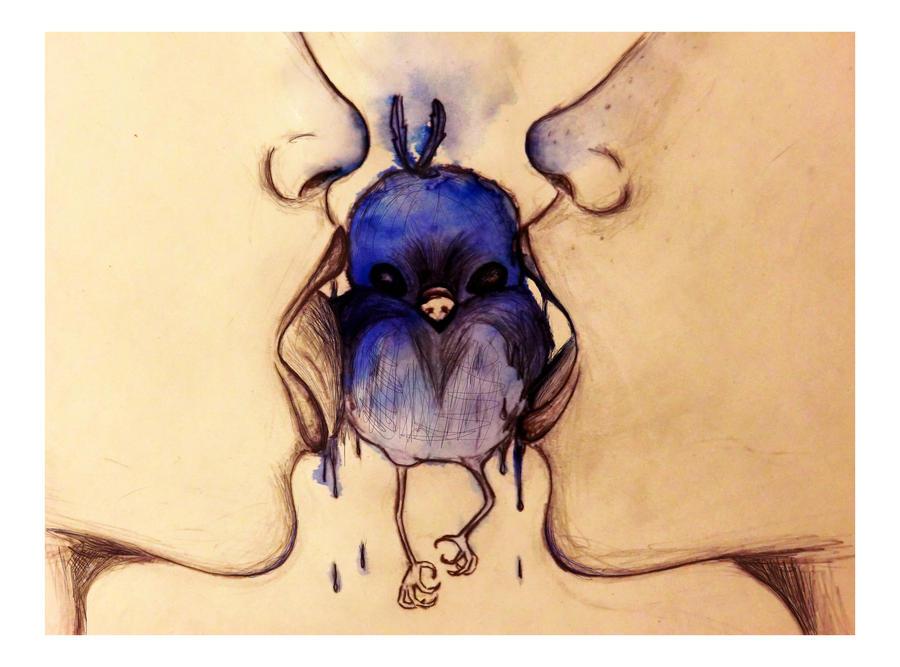 Blue birds by KadenciyaVandervayz