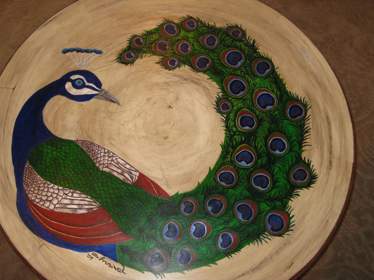Peacock coffee table by toorobot on deviantart for Peacock coffee table