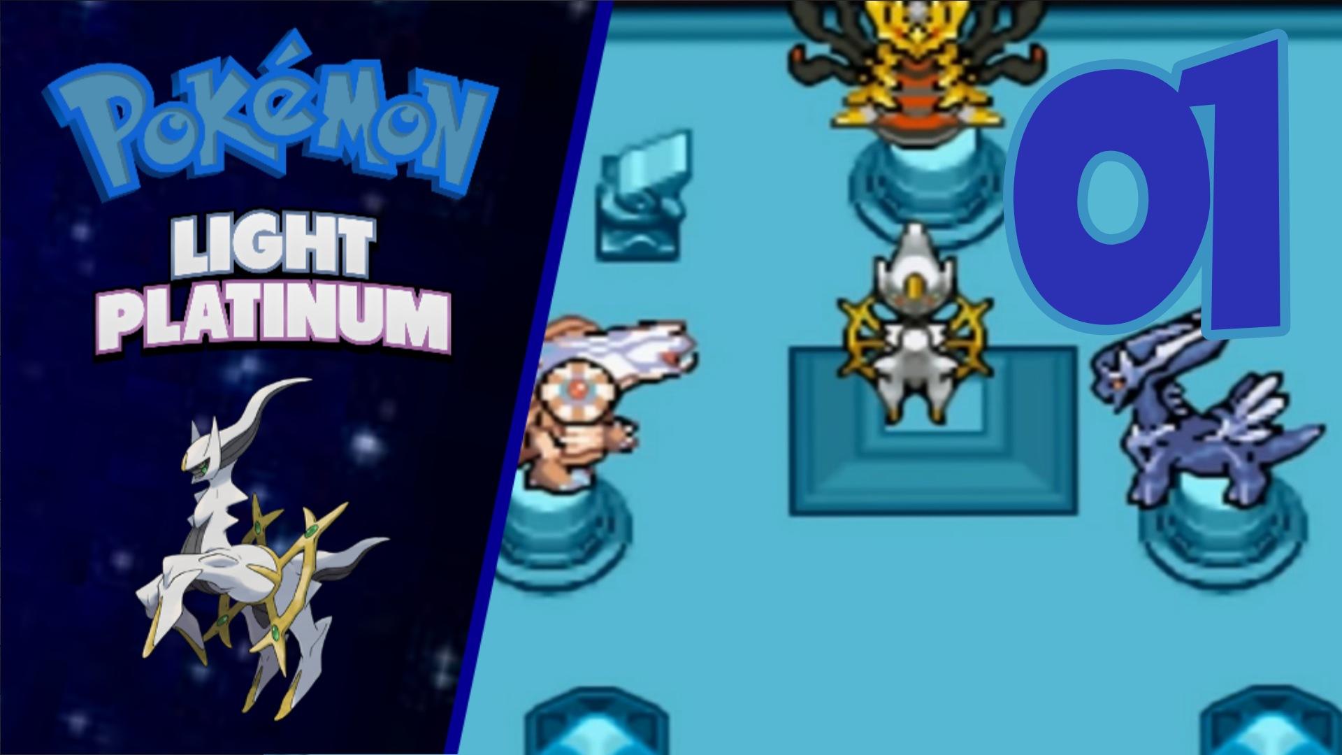 Pokémon Light Platinum