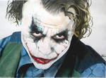 The Joker : Heath Ledger The Dark Knight