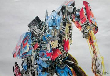 Transformers : Optimus Prime by JakubQaazAdamski
