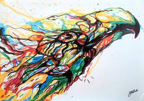 Eagle : Promarker Drawing by JakubQaazAdamski