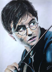 Harry Potter : Daniel Radcliffe (drawing)