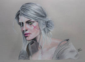 The Witcher 3 : Ciri Drawing
