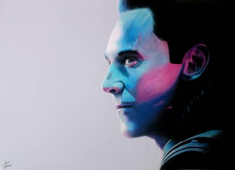 Tom Hiddleston : Loki - Drawing