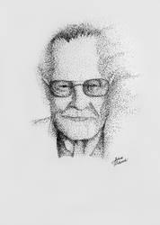 Stan Lee [*] drawing by JakubQaazAdamski