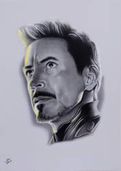 Avengers Endgame - Robert Downey Jr. by JakubQaazAdamski