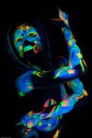 blacklight celestial by Glittergrrrl1204