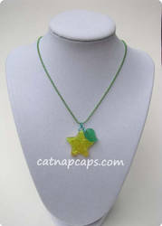 Paopu Resin Necklace by CatNapCaps