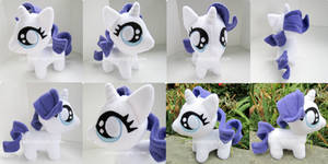 Chibi Baby Rarity Fan Art Plush