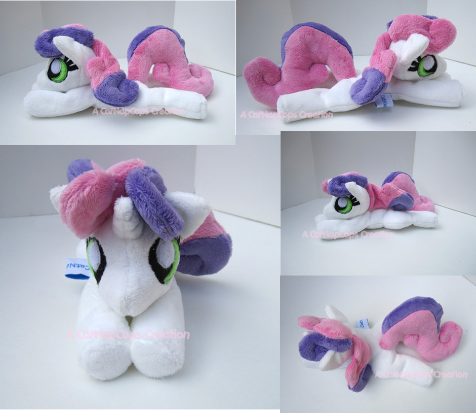 Squeaky Belle Sweetie Bell May Beanie Commission by CatNapCaps