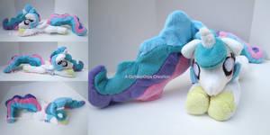Princess Squeaklestia Celestia Beanie Plush by CatNapCaps