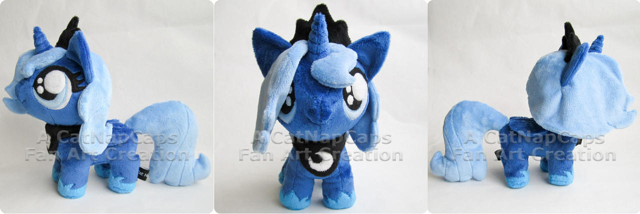 Chibi Woona Fan Art Plush by CatNapCaps
