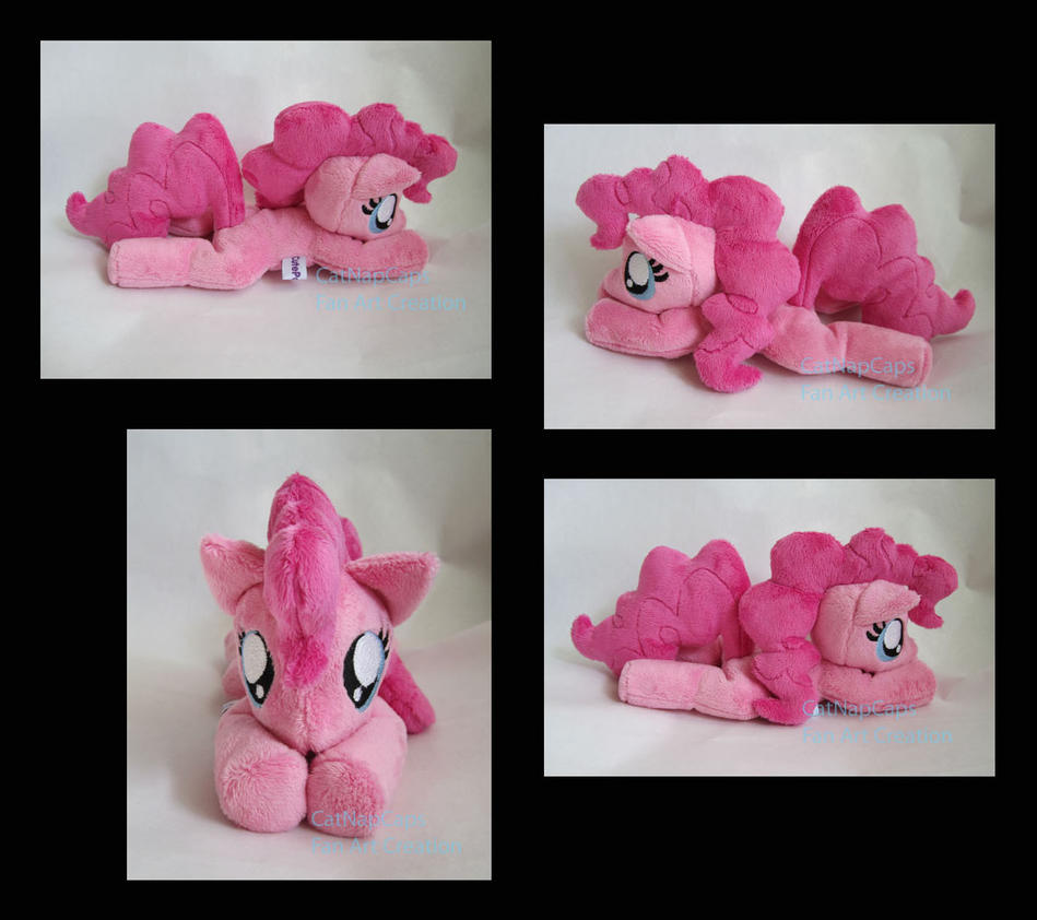 Squeaky Pinkie Pie Beanie Plush by CatNapCaps
