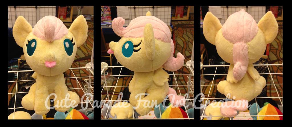 Baby Fluttershy Plush by CatNapCaps