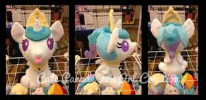 Baby Princess Celestia Fan Art Plushie by CatNapCaps