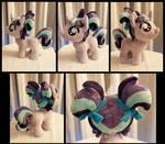 Filly Starlight Glimmer Fan Art Plush by CatNapCaps