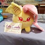 Marshmallow Flutterbat Fan Art Plush by CatNapCaps