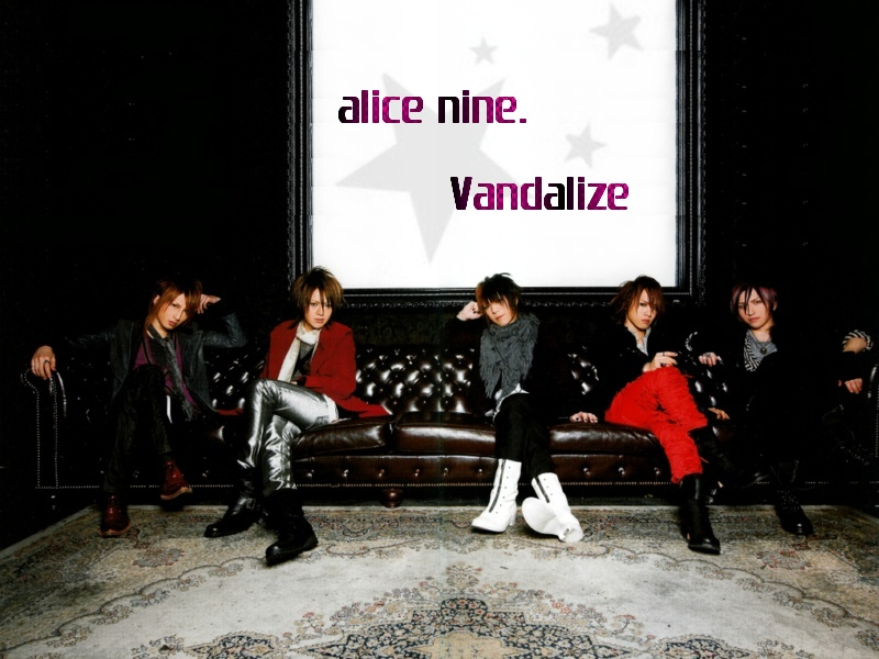 Alice Nine Alice_nine_vandalize_by_Sam_Chan_ALPHA