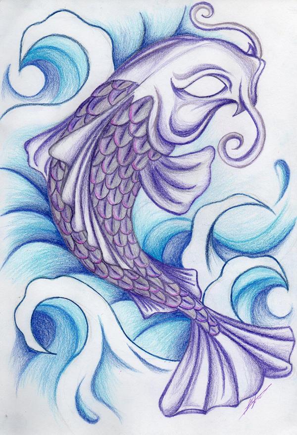 7e8b54e0c Koi Fish Tattoo Design by Nautylilgoth21 on DeviantArt