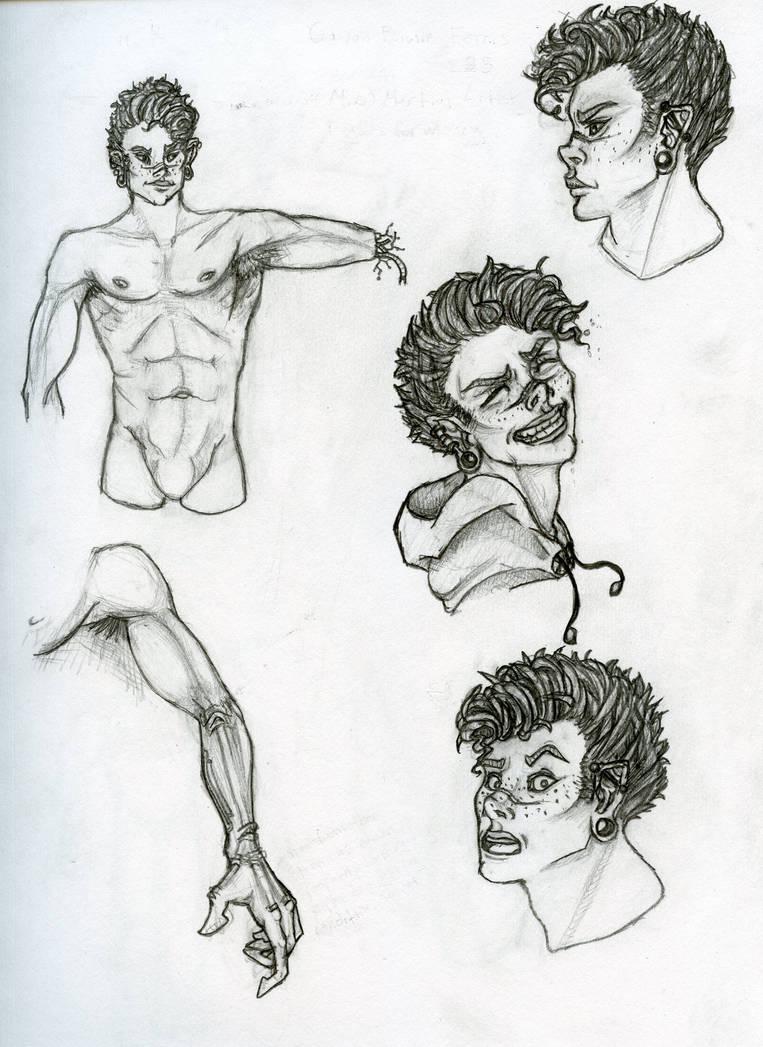 Gavin Bowie Ferris by MonochromeCrystal