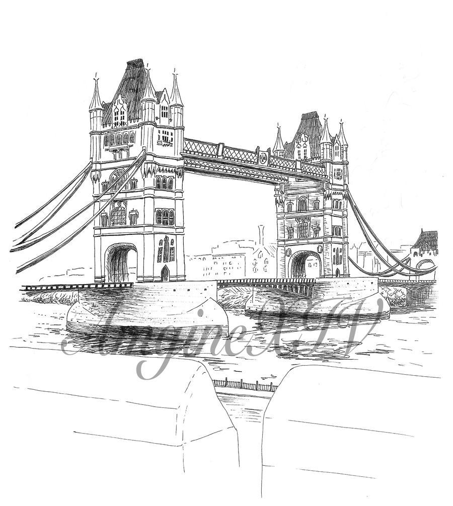 London Tower Bridge By AmgineXIV On DeviantArt
