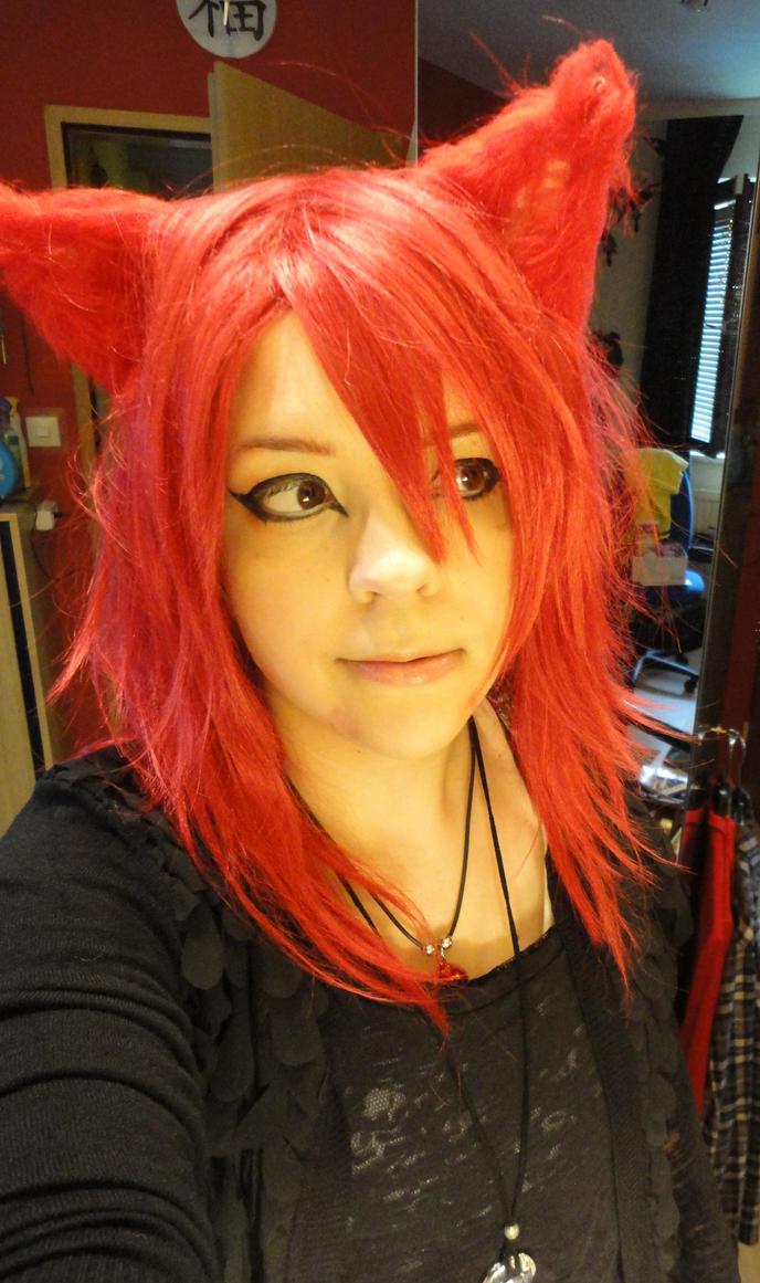 Red Cat - WIP by AyaAkuma