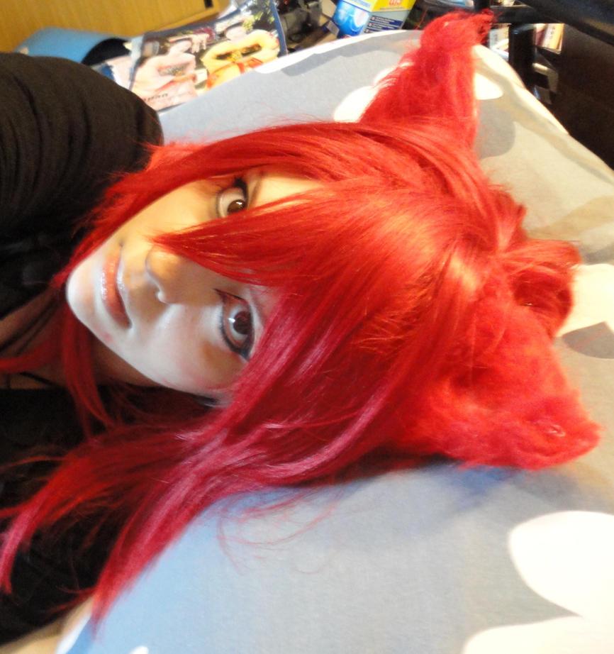 Red Cat WIP 2 by AyaAkuma