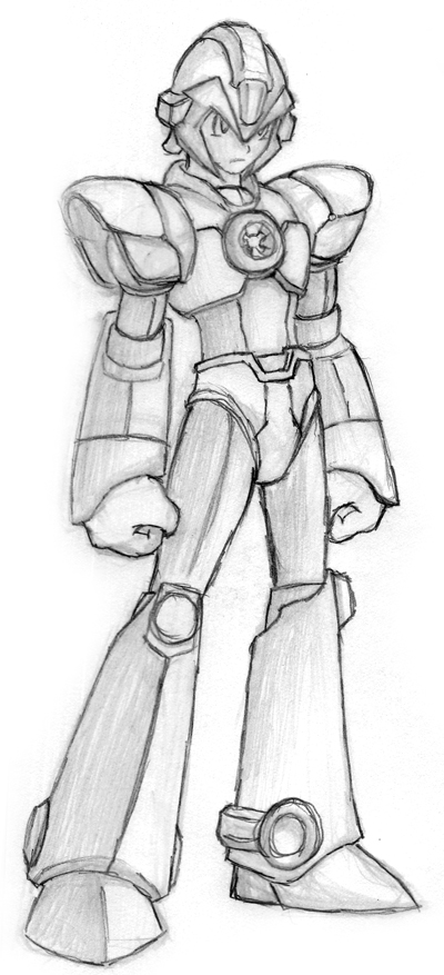 Mega Man custom by Tricheus