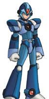 Mega Man X Custom Colored