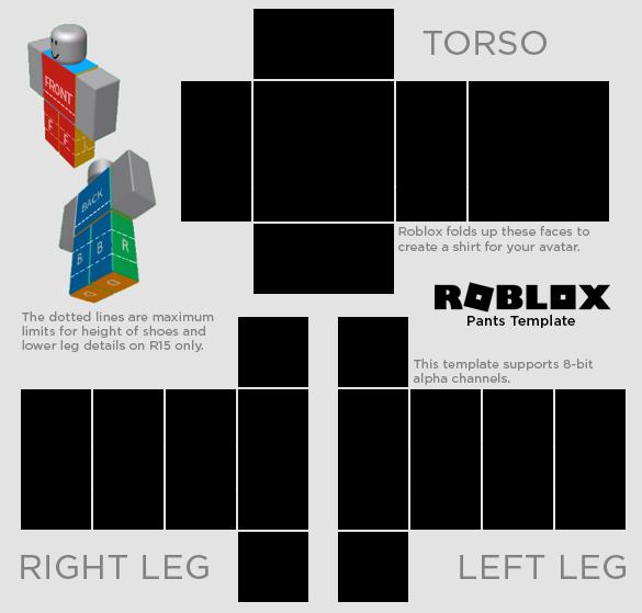 Plantillas De Ropa Para Roblox Png Plantilla Pantalones Roblox By Whitej2 On Deviantart