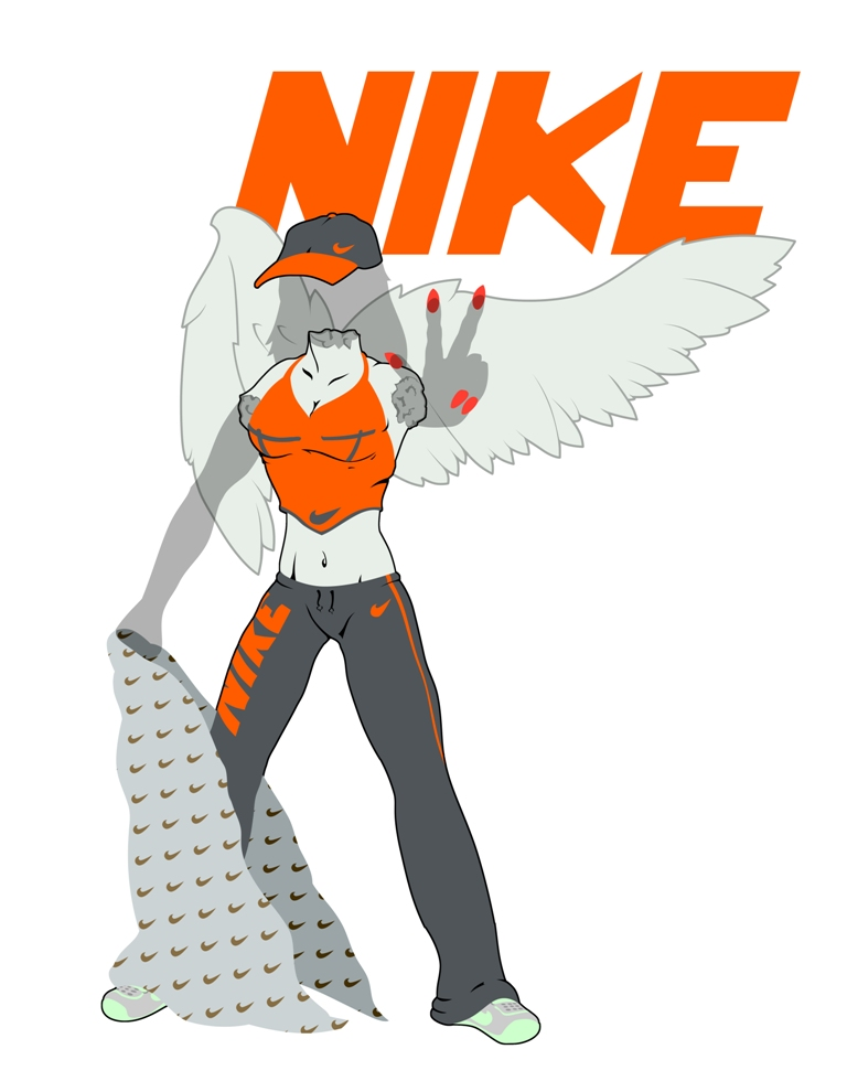 Nike Goddess of Victory by corinotec on DeviantArt