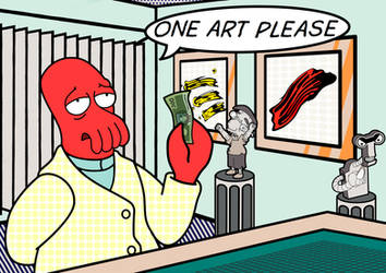 One art, please. by corinotec