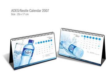 Ades Water Calendar by kumaladewi