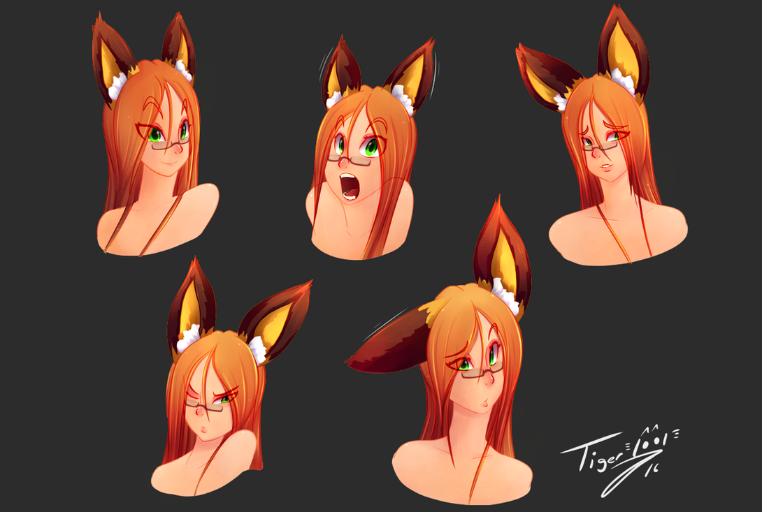 Shari Expressions by Tiger1001
