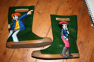 Latitude Wellies by Elerrina