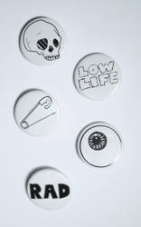Dirtbag Badge Collection